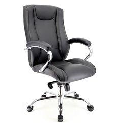 Кресло EVERPROF ARGO LB M PU Black для руководителя, экокожа, цвет черный