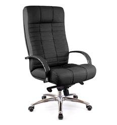Кресло EVERPROF Atlant AL M Black для руководителя, натуральная кожа, цвет черный