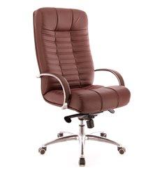 Кресло EVERPROF Atlant AL M Brown для руководителя, экокожа, цвет коричневый