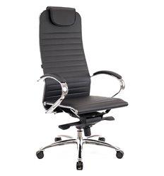Кресло EVERPROF Deco PU Black для руководителя, экокожа, цвет черный