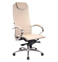 Кресло EVERPROF Deco PU Beige для руководителя, экокожа, цвет бежевый