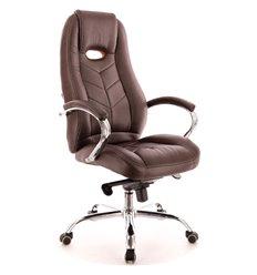 Кресло EVERPROF DRIFT M PU Brown для руководителя, экокожа, цвет коричневый