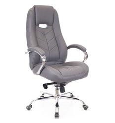 Кресло EVERPROF DRIFT M PU Grey для руководителя, экокожа, цвет серый