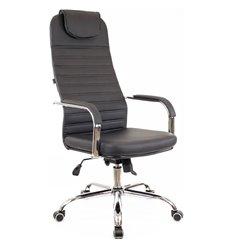 Кресло EVERPROF EP-708 TM PU Black для руководителя, экокожа, цвет черный