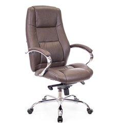 Кресло EVERPROF KRON M PU Brown для руководителя, экокожа, цвет коричневый
