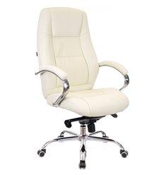 Кресло EVERPROF KRON M PU Cream для руководителя, экокожа, цвет кремовый