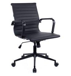 Кресло EVERPROF LEO T Black PU для руководителя, экокожа, цвет черный