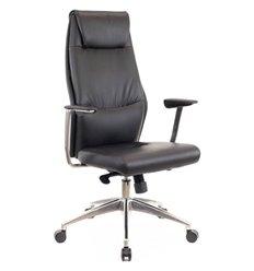 Кресло EVERPROF London PU Black для руководителя, экокожа, цвет черный