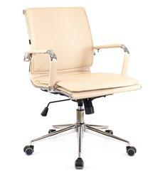Кресло EVERPROF NEREY LB T Beige для руководителя, экокожа, цвет бежевый