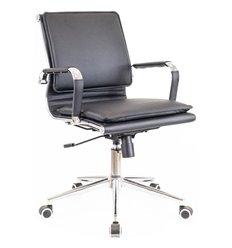 Кресло EVERPROF NEREY LB T Black для руководителя, экокожа, цвет черный