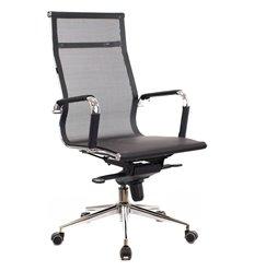 Кресло EVERPROF OPERA M Mesh Black для руководителя, сетка, цвет черный