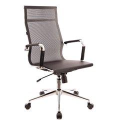 Кресло EVERPROF OPERA T Mesh Black для руководителя, сетка, цвет черный