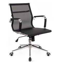 Кресло EVERPROF OPERA LB T Mesh Black для руководителя, сетка, цвет черный