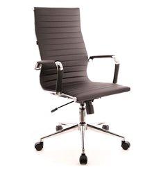 Кресло EVERPROF RIO T PU Black для руководителя, экокожа, цвет черный