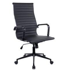 Кресло EVERPROF RIO Black T PU Black для руководителя, экокожа, цвет черный