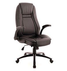 Кресло EVERPROF Trend TM PU Black для руководителя, экокожа, цвет черный