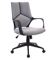 Кресло EVERPROF Trio Black LB T Grey для оператора, ткань, цвет серый