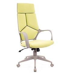 Кресло EVERPROF Trio Grey TM Green для руководителя, ткань, цвет зеленый