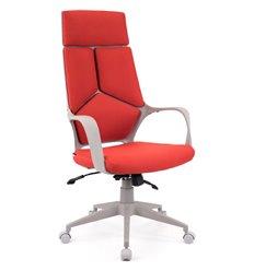 Кресло EVERPROF Trio Grey TM Red для руководителя, ткань, цвет красный