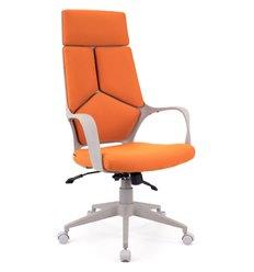 Кресло EVERPROF Trio Grey TM Orange для руководителя, ткань, цвет оранжевый