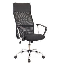 Кресло EVERPROF Ultra T Black для оператора, сетка/ткань, цвет черный