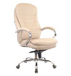 Кресло EVERPROF VALENCIA M Beige для руководителя, кожа, цвет бежевый