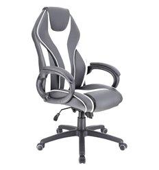Кресло EVERPROF Wing TM White игровое, экокожа, цвет черный/белый