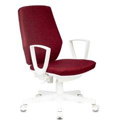 Кресло Бюрократ CH-W545/RED для оператора, белый пластик, цвет красный