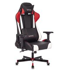 Кресло Zombie VIKING TANK RED игровое, экокожа, цвет черный/красный/белый