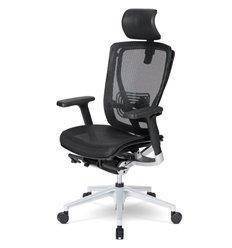 Кресло Schairs AEON - A01S для руководителя, эргономичное, сетка, цвет черный