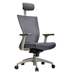 Кресло Schairs AIRE-101W для руководителя, эргономичное, сетка/ткань