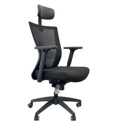 Кресло Schairs AIRE-111B для руководителя, эргономичное, сетка/ткань
