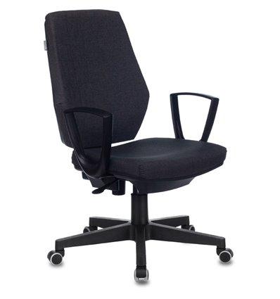 Кресло Бюрократ CH-545/417-GREY для оператора, ткань, цвет серый