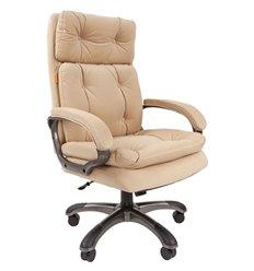 Кресло CHAIRMAN 442 ткань E-03 бежевый для руководителя