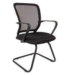 Кресло CHAIRMAN 698 V TW черный для посетителя, сетка/ткань