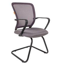 Кресло CHAIRMAN 698 V TW-04 серый для посетителя, сетка/ткань