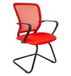 Кресло CHAIRMAN 698 V TW-69 красный для посетителя, сетка/ткань