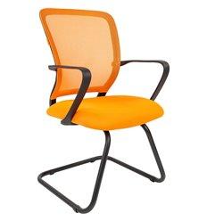 Кресло CHAIRMAN 698 V TW-66 оранжевый для посетителя, сетка/ткань