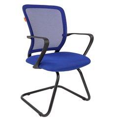 Кресло CHAIRMAN 698 V TW-05 синий для посетителя, сетка/ткань