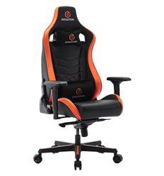 Кресло EVOLUTION AVATAR, геймерское, экокожа, цвет черный/оранжевый