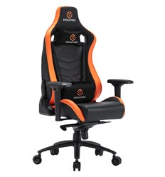 Кресло EVOLUTION AVATAR M, геймерское, экокожа, цвет черный/оранжевый