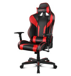 DRIFT DR111 PU Leather black/red, экокожа, цвет черный/красный