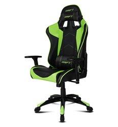 DRIFT DR300 PU Leather black/green, экокожа, цвет черный/зеленый