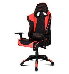 DRIFT DR300 PU Leather black/red, экокожа, цвет черный/красный