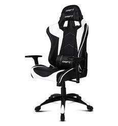 DRIFT DR300 PU Leather black/white, экокожа, цвет черный/белый