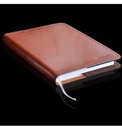 Ежедневник в кожаной обложке BUVARDO, ручной работы, кожа Full Grain
